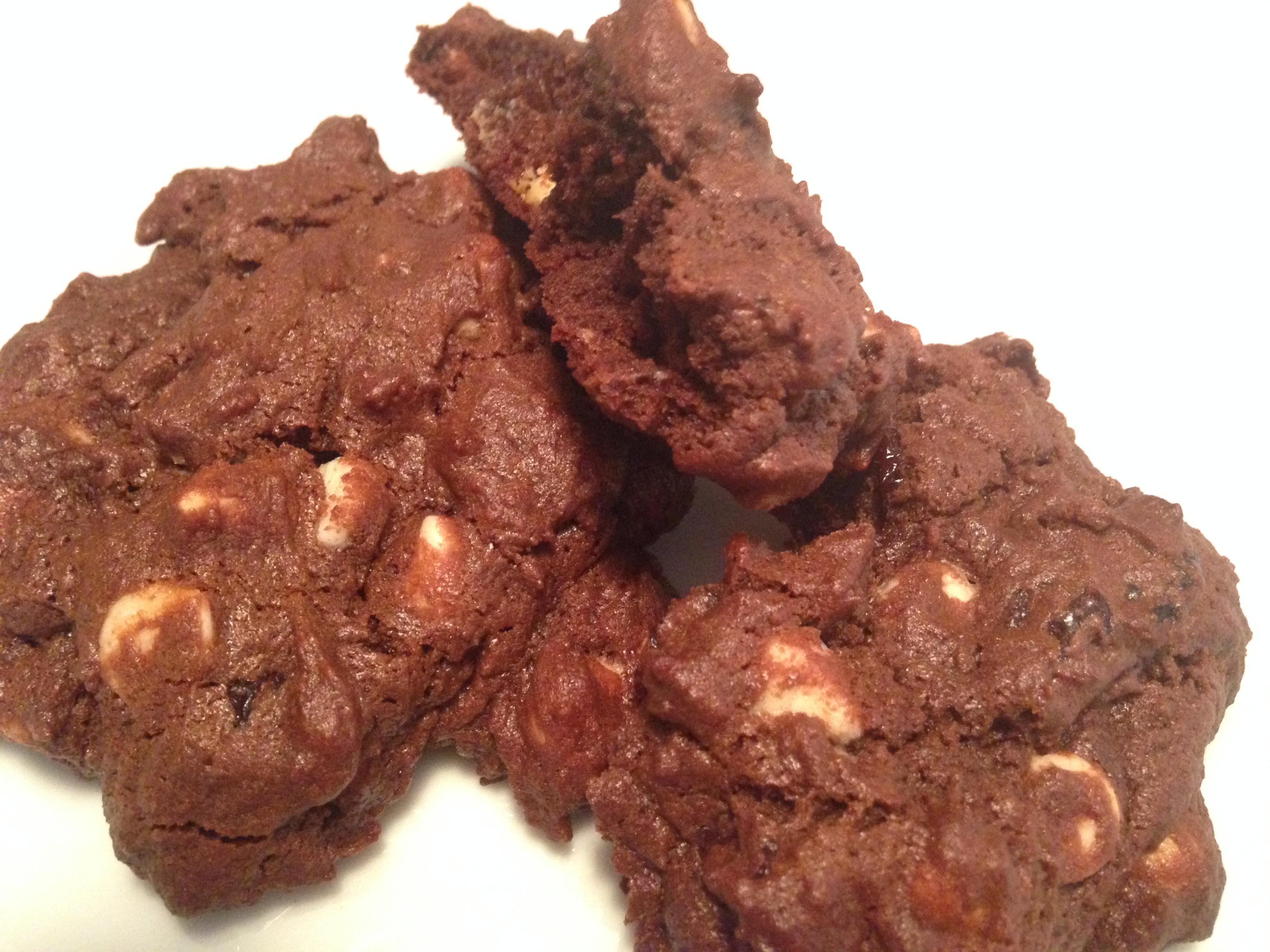 Triple Chocolate Cookies – Two Ways