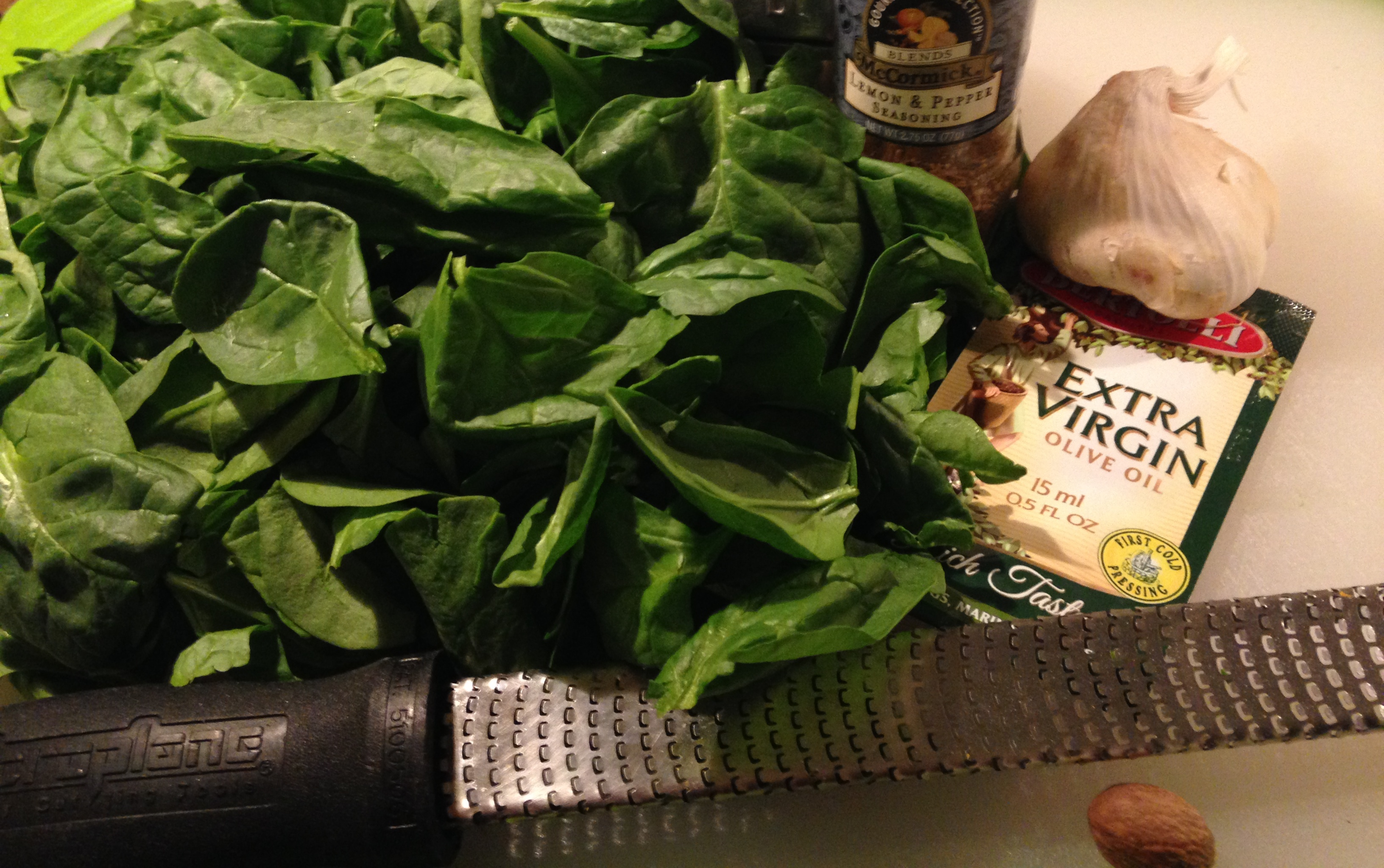 5 Minute Veggie – Sauteed Spinach