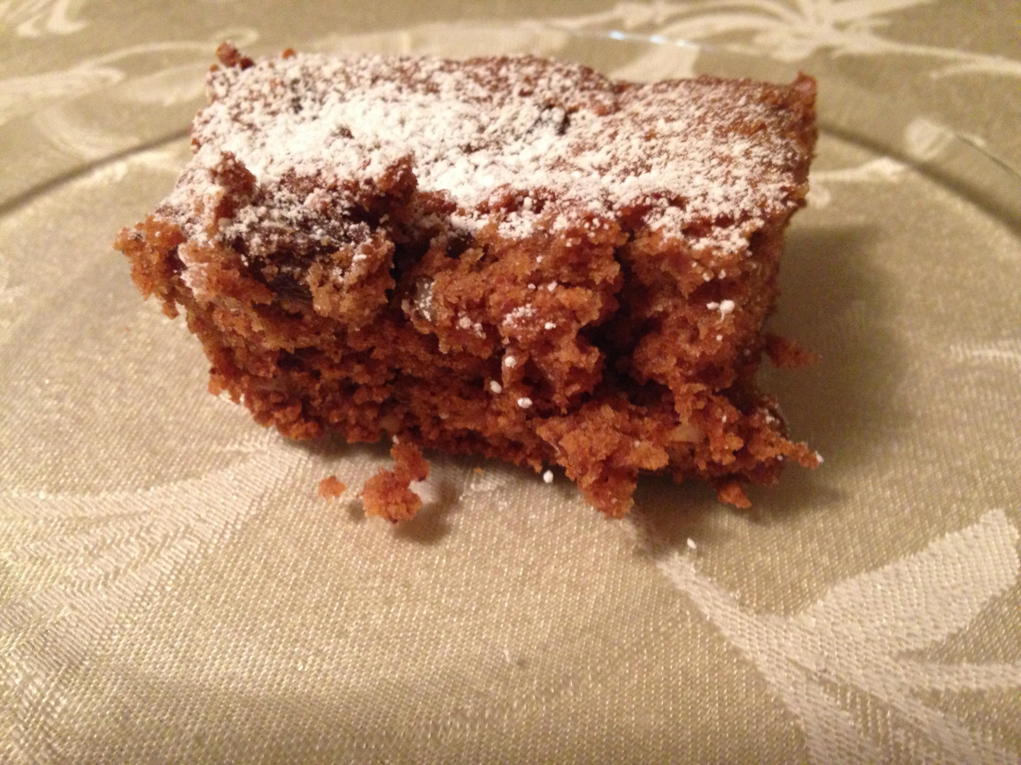 Grandma's Applesauce Cake