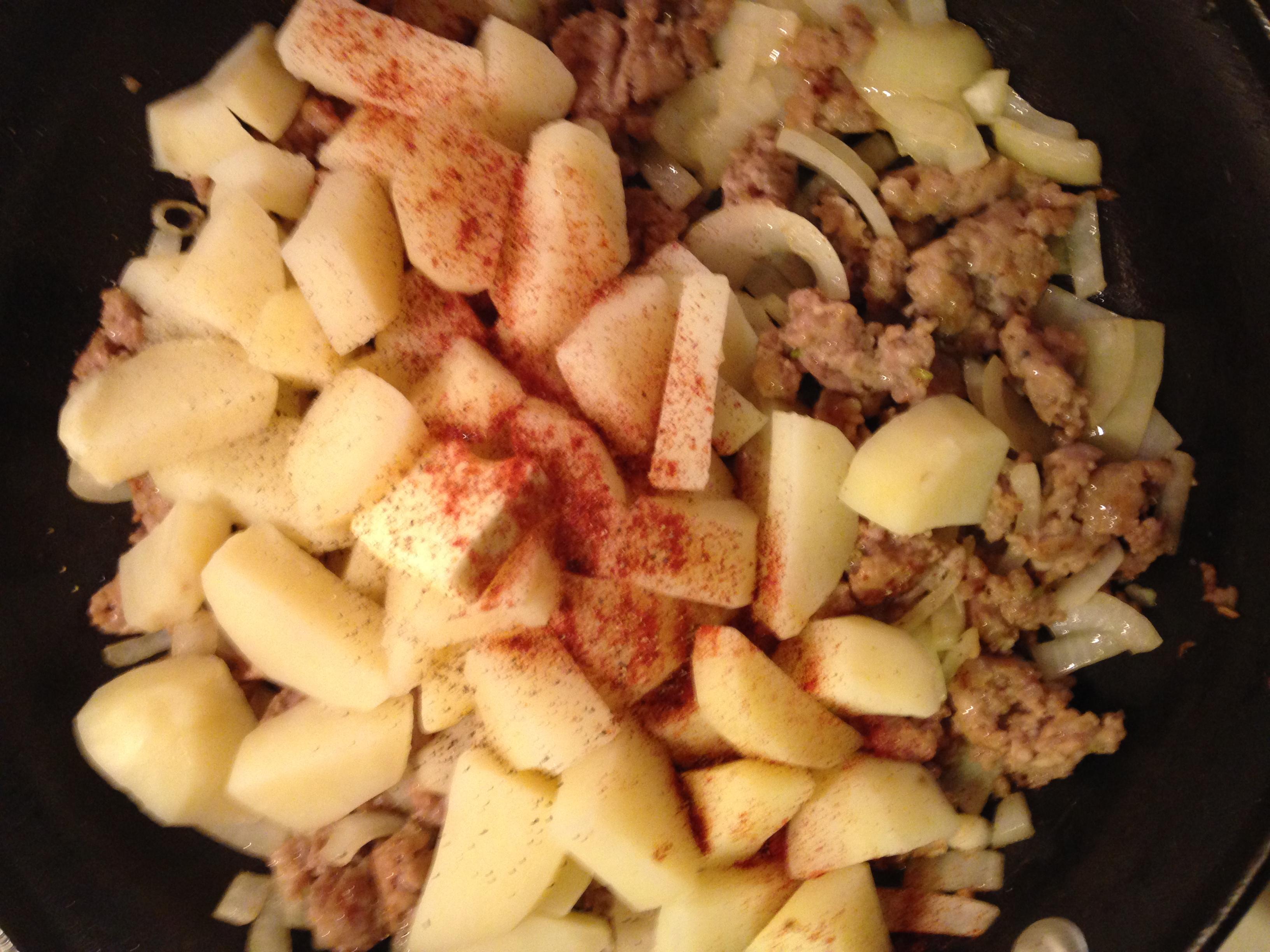 Hearty Potato Hash
