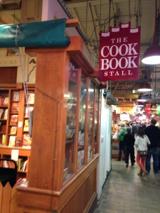 The Cook Book Stall with every cooking and baking book you can imagine