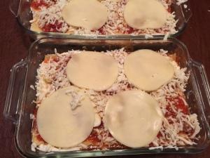 Layering the lasagna