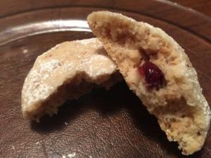 cranberry amaretto cookies