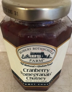 Cranberry Pomegranate Chutney