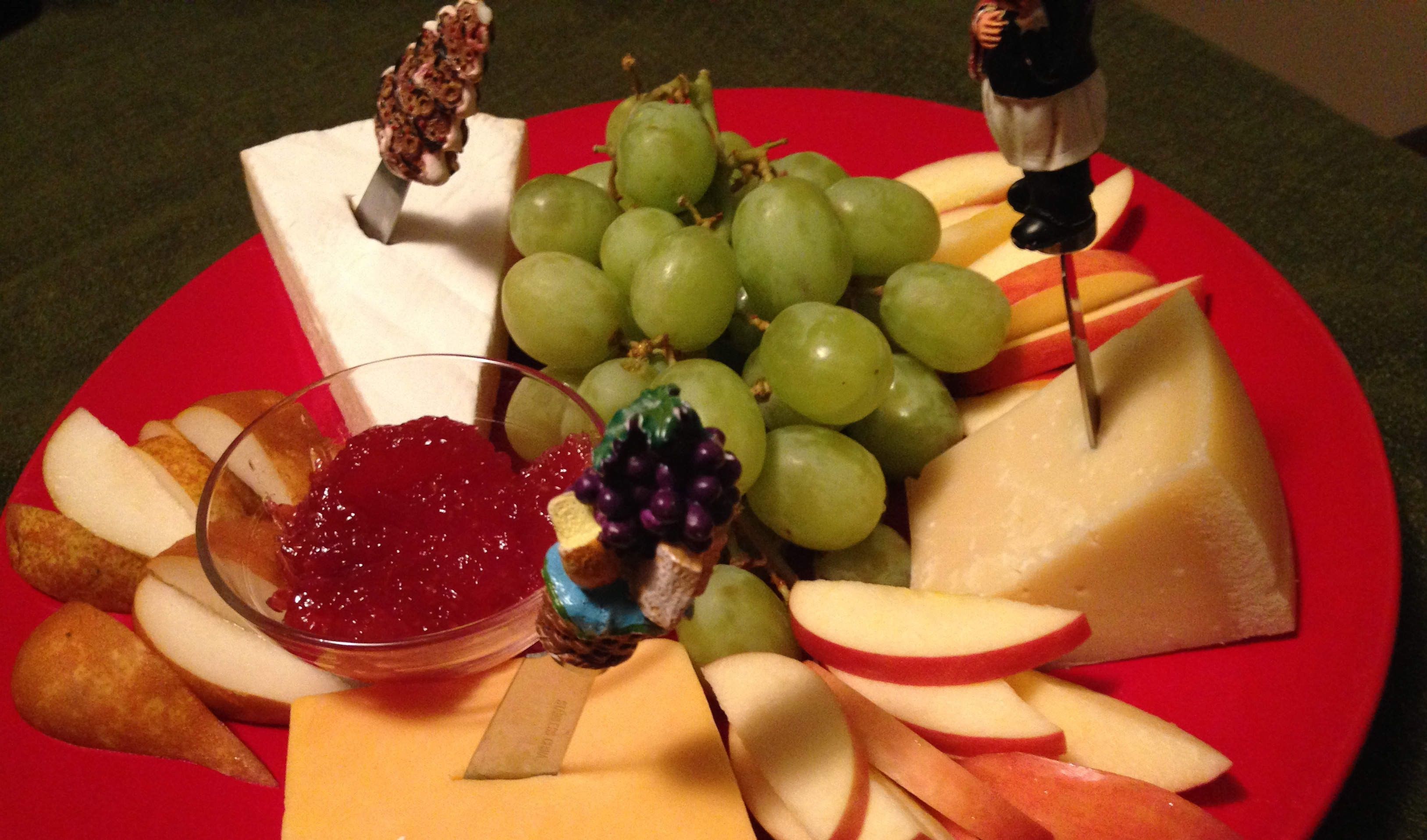 The Holiday Cheese Platter
