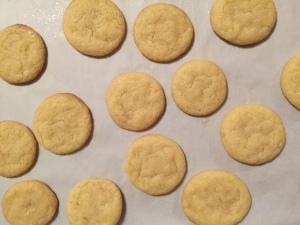 Orange Cookies perfectly baked