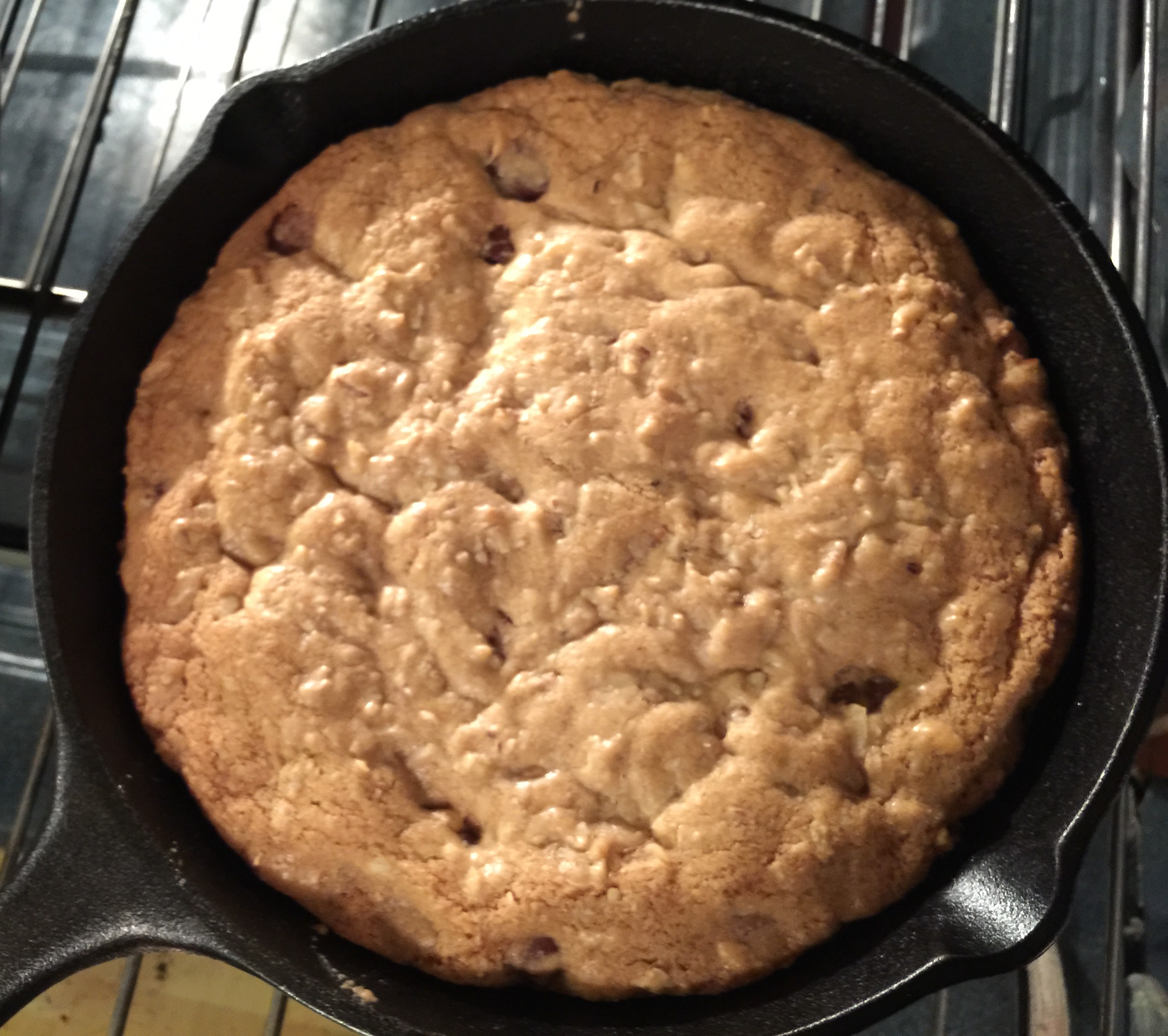 Cast Iron Pan Cookie