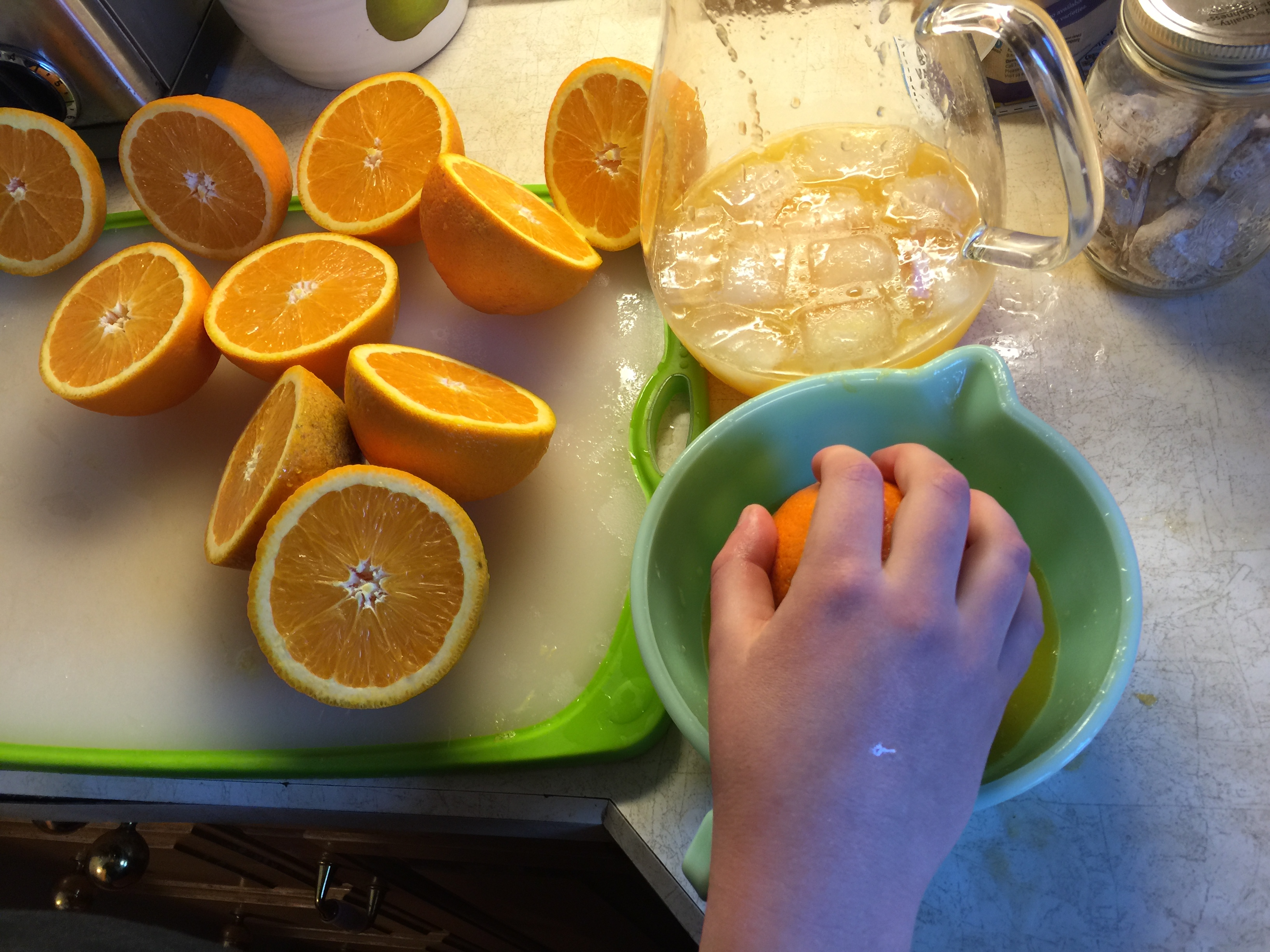 Homemade Orange Aid